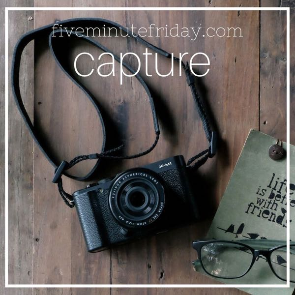 Capture - 31 Days of Five Minute Free Writes